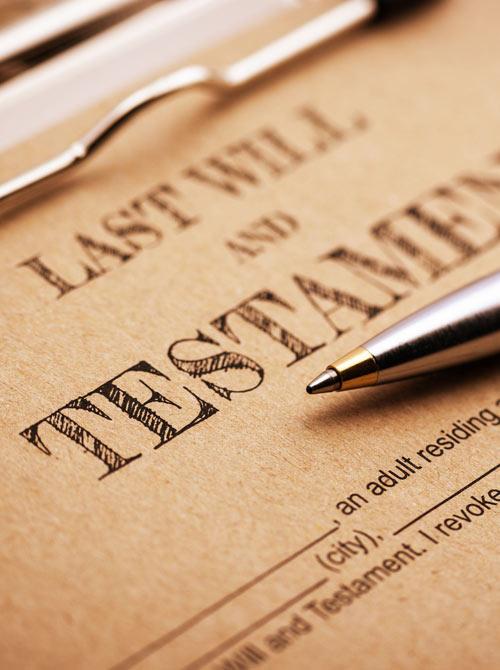 Last Will & Testarment